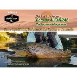 Pesca en ALFARRAS - Noviembre - Viajes de The FlyCenter CLUB