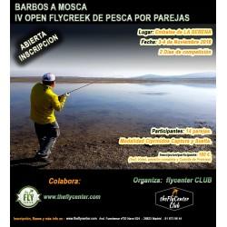 IV OPEN FLYCREEK de pesca por parejas BARBOS A MOSCA