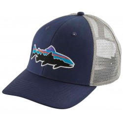 Gorra Patagonia Fitz Roy Trout Trucker Hat - Classic Navy