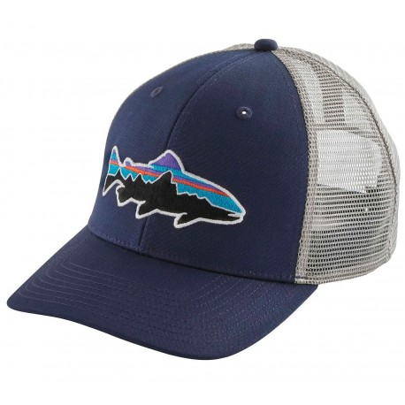 7fa49913ad9 Gorra Patagonia Fitz Roy Trout Trucker Hat - Classic Navy