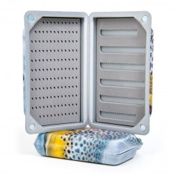 Caja de Moscas Trout Slit Foam Fly Box