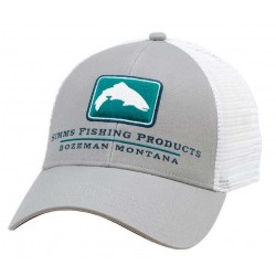 Gorra Simms Trout Icon Trucker Granite