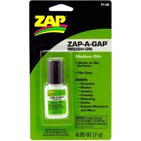 Ciano Zap-A-Gap Brush-On .25 oz