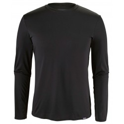 Camiseta Patagonia Capilene Daily Long sleeved -  Black