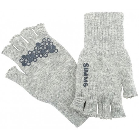 Guantes Simms Wool Half Finger Glove