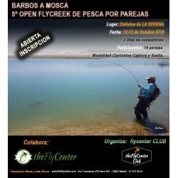 5º OPEN FLYCREEK de pesca por parejas BARBOS A MOSCA