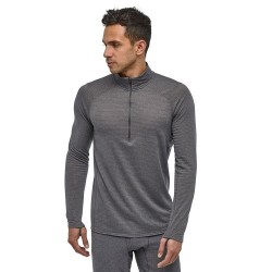 Baselayer Patagonia Capilene Thermal Weight Zip Neck - Black