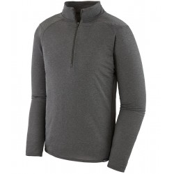 Baselayer Patagonia Capilene Thermal Weight Zip Neck - Grey