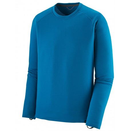 Baselayer Patagonia Capilene Thermal Weight Crew - Balkan Blue