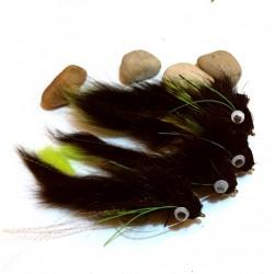 Diver ciervo Black - Mosca para Lucio y Bass