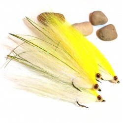 Twist Bucktail - Mosca para Lucio y Bass