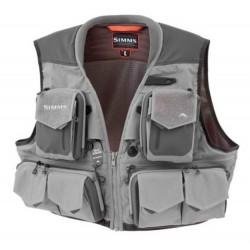 Chaleco de pesca Simms G3 Guide Vest Steel