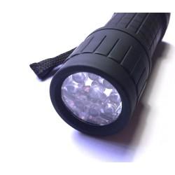 Linterna FlyCreek Luz UV de 9 Leds
