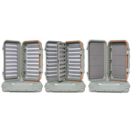 Caja de moscas Guideline Water Proof fly box