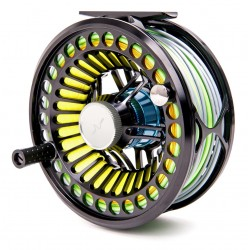 Carrete Guideline VOSSO Fly Reel Glossy Slate Black