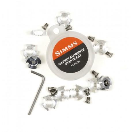 Clavo de Estrella Simms G4 Pro Alumibite Cleat