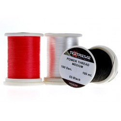 Hilo de montaje 100Dennier Textreme POWER Thread MEDIUM