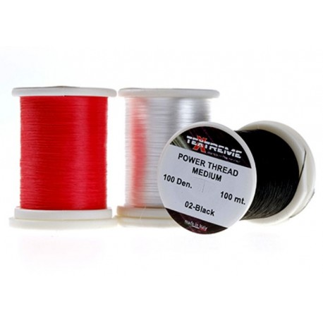 Hilo de montaje 100Dennier Textreme POWER Thread MEDIUM