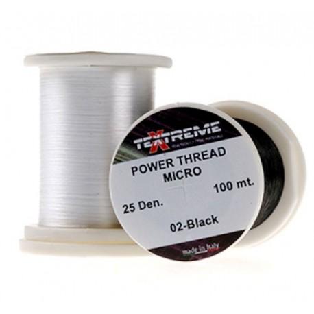 Hilo de montaje 25Dennier Textreme POWER Thread MICRO