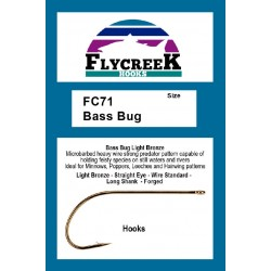 Anzuelo FlyCreek FC71 Bass Bug