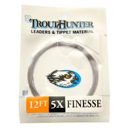 Bajo de linea TroutHunter Finesse Leader 12ft