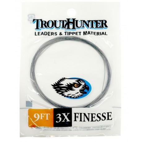 Bajo de linea TroutHunter Finesse Leader 9ft