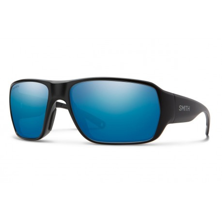Gafas Polarizadas Glass Smith Castaway Matte Black Polar Blue Mirror