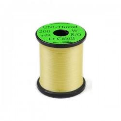 Black - UNI-Thread 0/8 - 200yds. Hilo de montaje