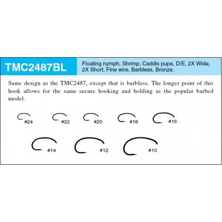 Anzuelo TMC 2487BL - 20 un