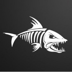 Sticker Vinilo - Predator 2