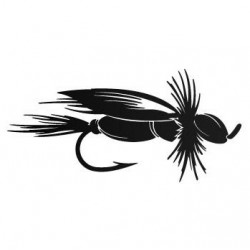 Sticker Vinilo - Wet Fly
