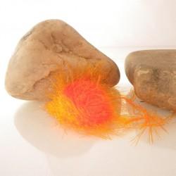 Polar Chenille Naranja Fluor