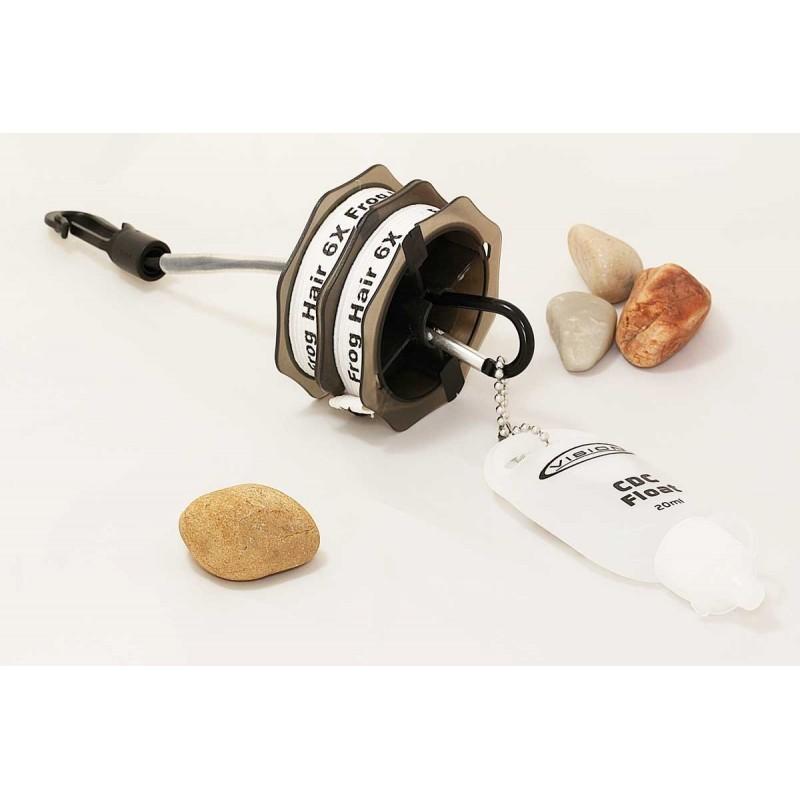 Flycreek elastic tippet spool holder for sale for Tippet fly fishing