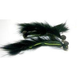 Culebrilla Negra - Mosca para pesca en Lago