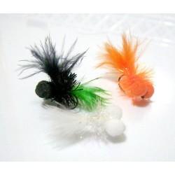 Booby Whitte Pearl - Mosca para la pesca en Lago
