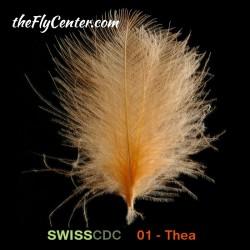 SWISSCDC  Natural Dyed  Select 1gr. Pluma de culo de pato CDC