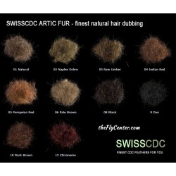 Dubbing Natural Artic Fur SWISSCDC