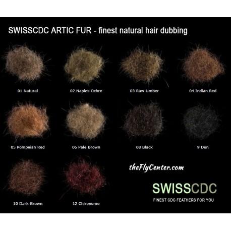 Dubbing Natural Artic Fur SWISSCDC