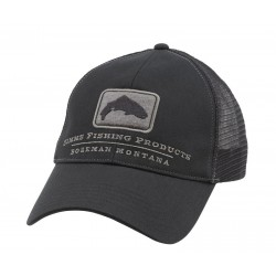 Gorra Simms Trout Trucker Hunter Black