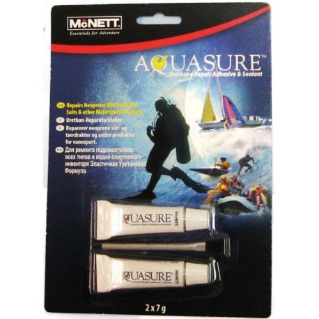 Reparador de Vadeador de pesca Aquasure 7gr x 2